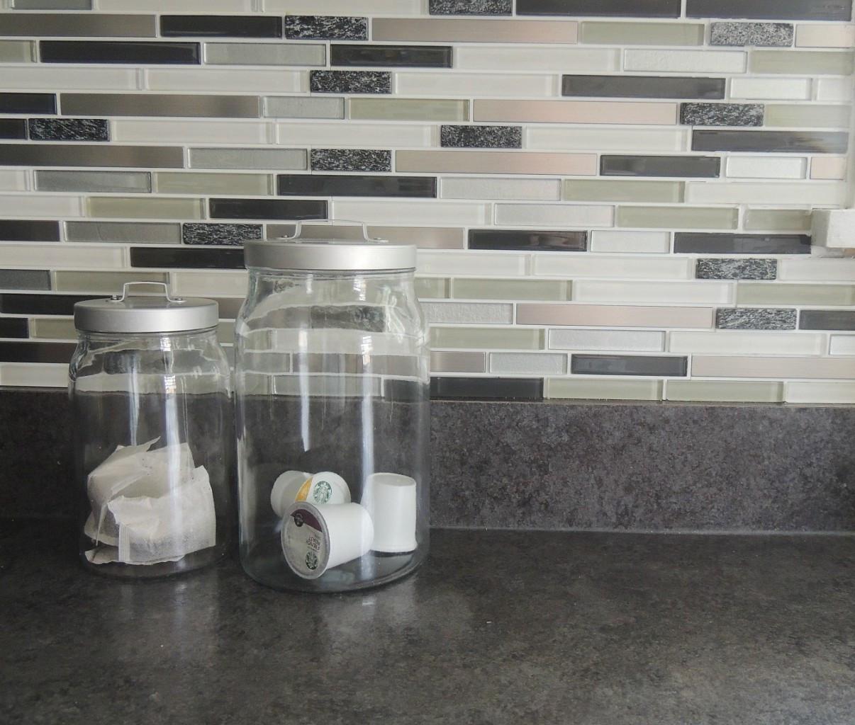 Kitchen Peel And Stick Backsplash  Kitchen Your Kitchen Look Awesome By Using Peel And Stick
