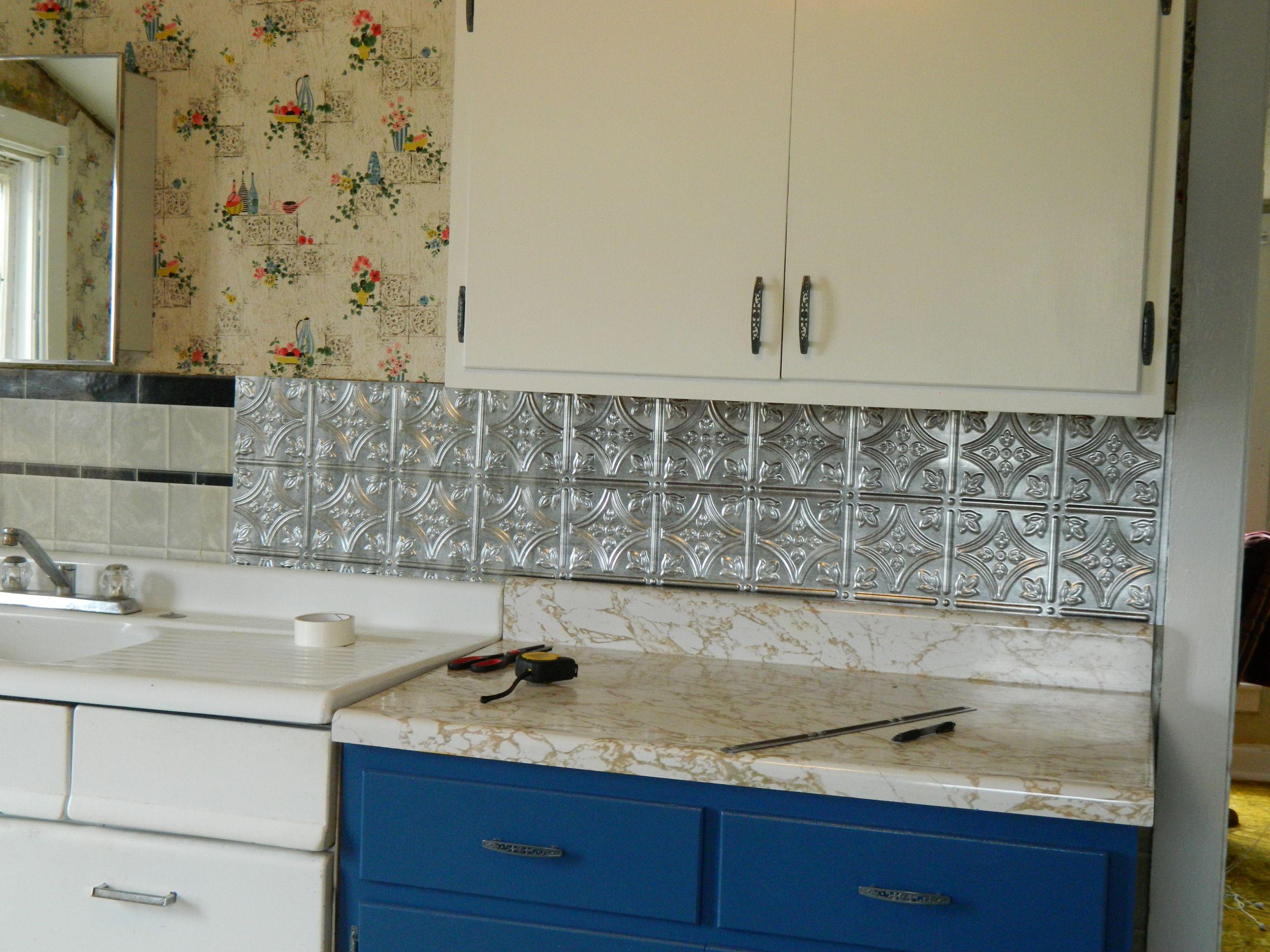 Kitchen Peel And Stick Backsplash  DIY 5 Steps to Kitchen Backsplash – No Grout Involved