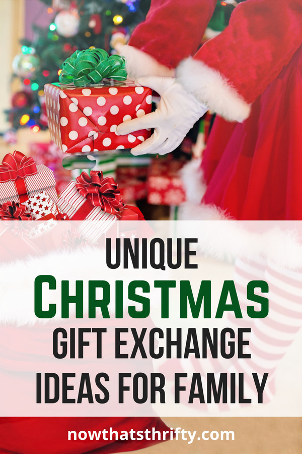 Large Family Christmas Gift Exchange Ideas  Unique Christmas Gift Exchange Ideas for Family Now That