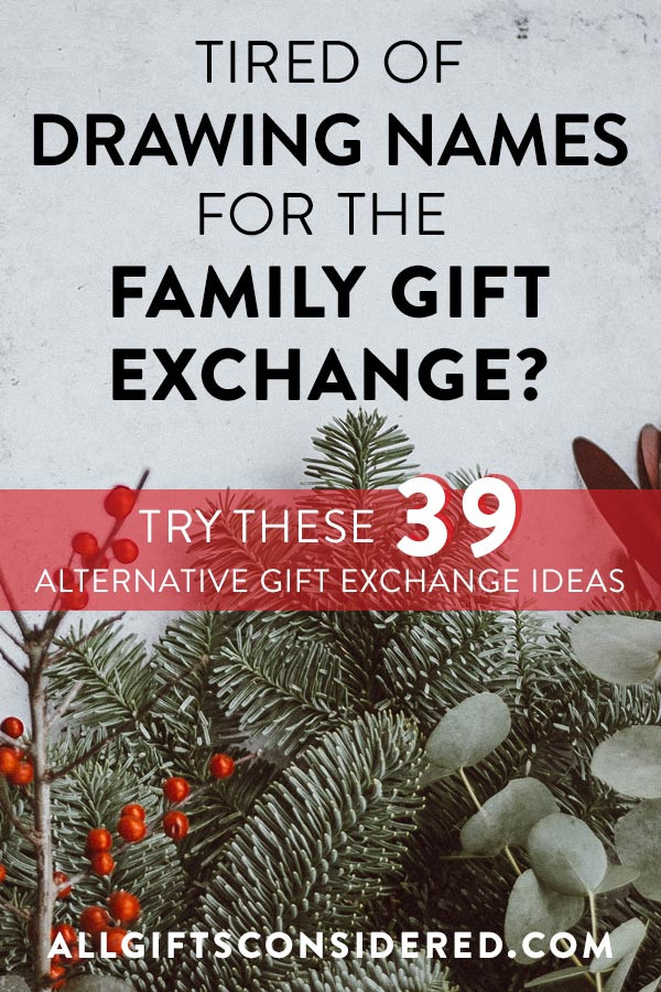 Large Family Christmas Gift Exchange Ideas  39 Ingenious Family Gift Exchange Ideas All Gifts Considered