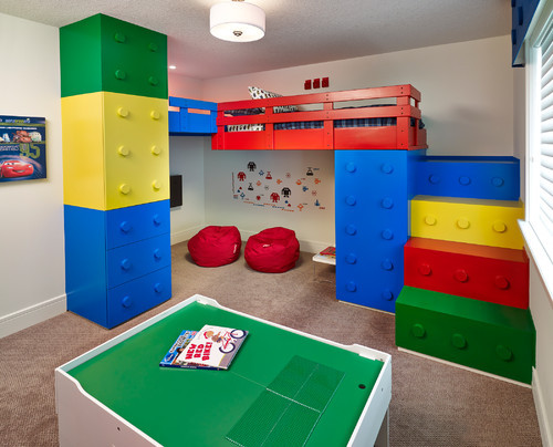 Lego Kids Room  Lego Themed Bedroom Ideas That Will INSPIRE you