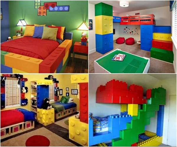 Lego Kids Room  26 Cute Ideas To Add Fun To a Child Room Amazing DIY