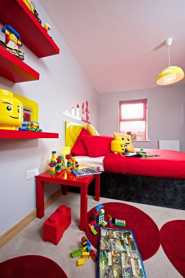 Lego Kids Room  10 Best Kids Bedroom With Lego Themes