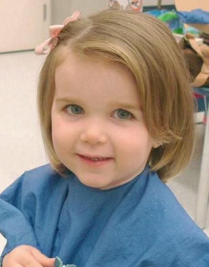 Little Girl Hairstyles For Short Hair Pinterest  20 Cute Short Haircuts for Little Girls