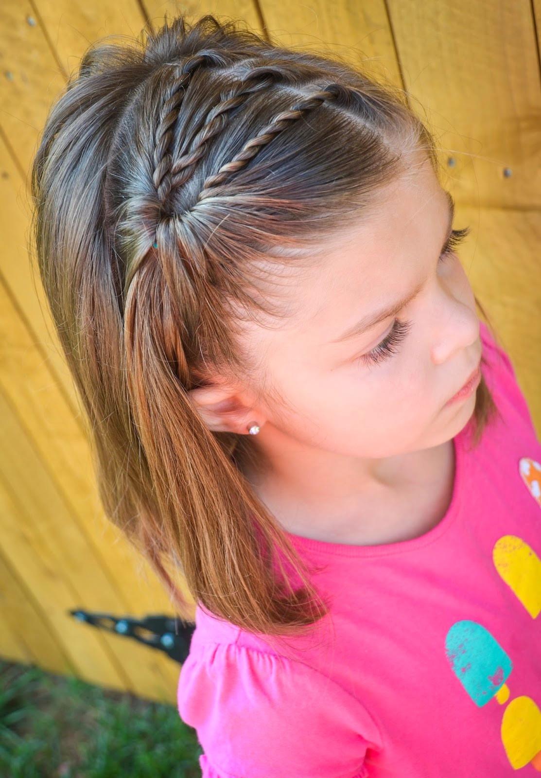 Little Girl Hairstyles For Short Hair Pinterest  25 Little Girl Hairstyles you can do YOURSELF