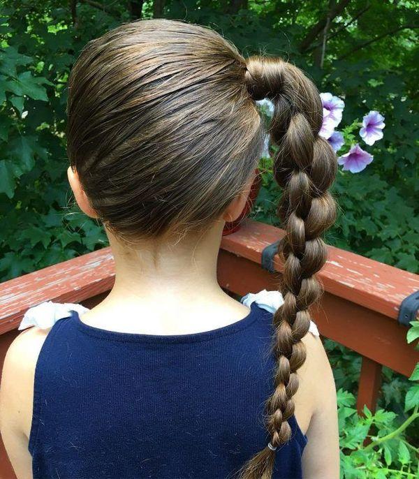 Little Girl Hairstyles For Short Hair Pinterest  Best Little Girls Haircuts Ideas 2018