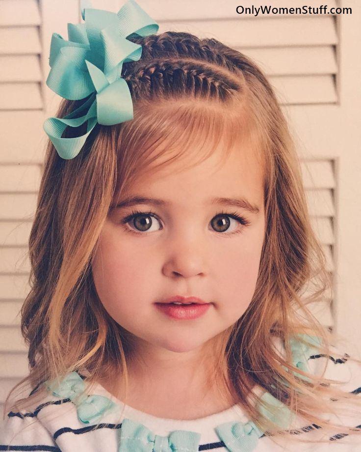 Little Girl Hairstyles For Short Hair Pinterest  30 Easy【Kids Hairstyles】Ideas for Little Girls Very Cute