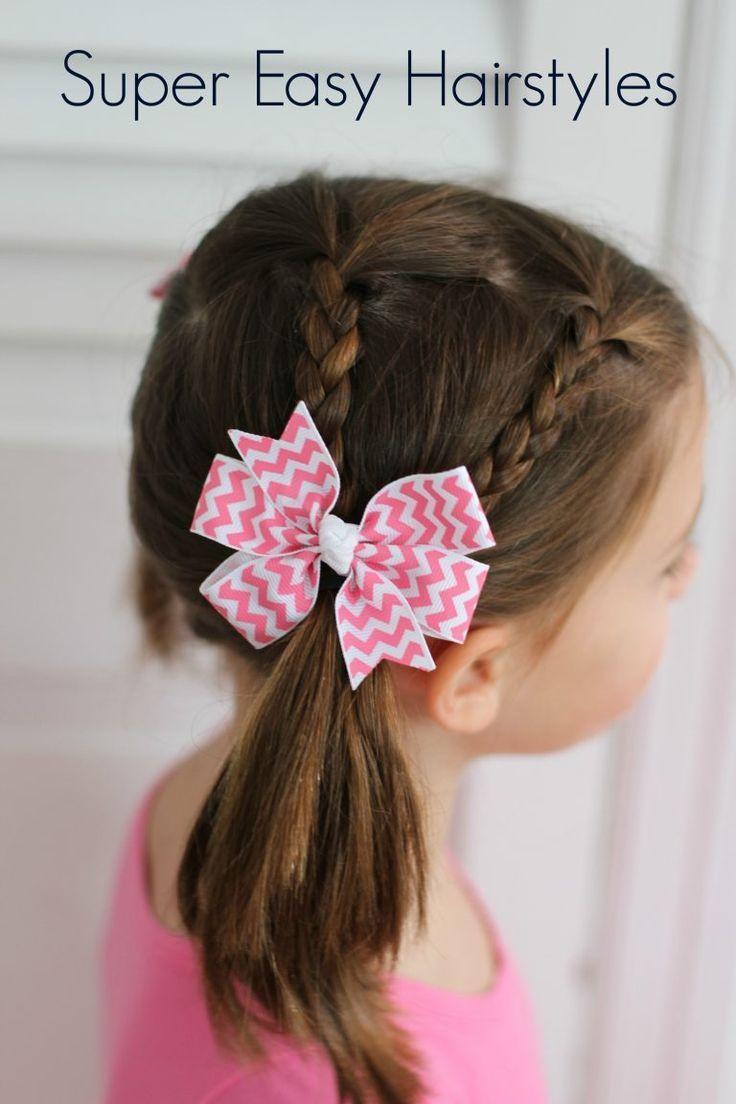 Little Girl Hairstyles For Short Hair Pinterest  Best 25 Easy hairstyles for kids ideas on Pinterest