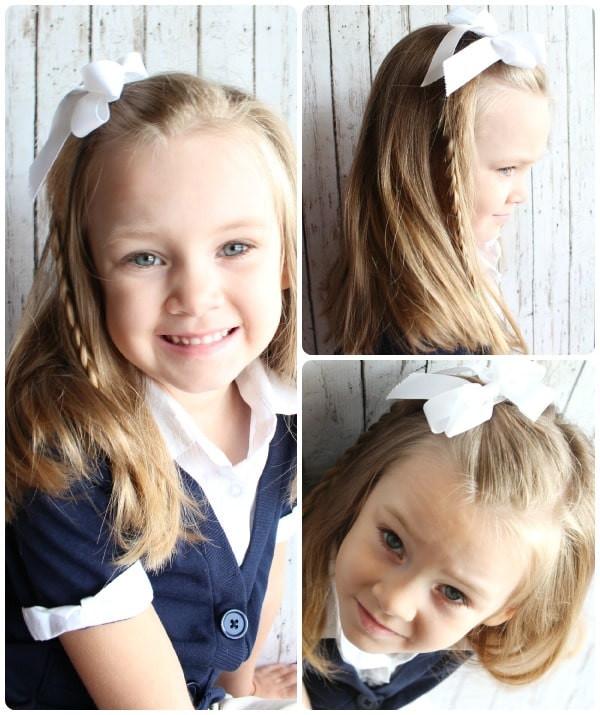 Little Girl Hairstyles For Short Hair Pinterest  Easy Hairstyles For Little Girls 10 ideas in 5 Minutes
