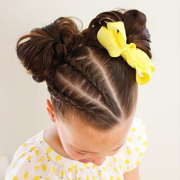 Little Girl Hairstyles For Short Hair Pinterest  Little girl hairstyles for long and short hair for any