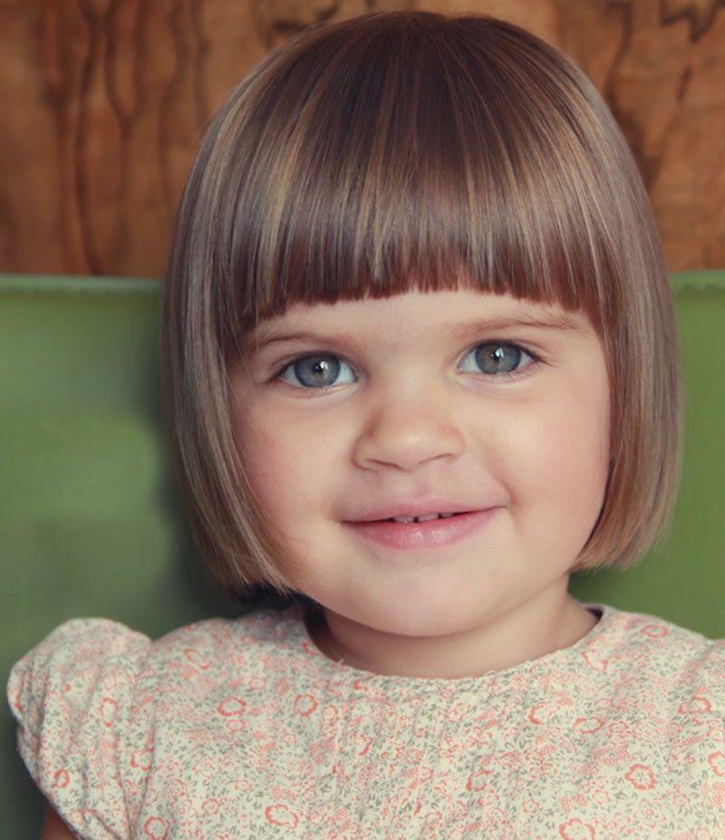 Little Girl Hairstyles For Short Hair Pinterest  Pin on Hair ideas for C & E