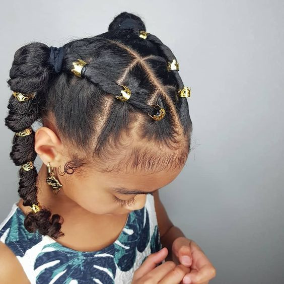 Little Girl Hairstyles Natural Hair  35 Amazing Natural Hairstyles for Little Black Girls