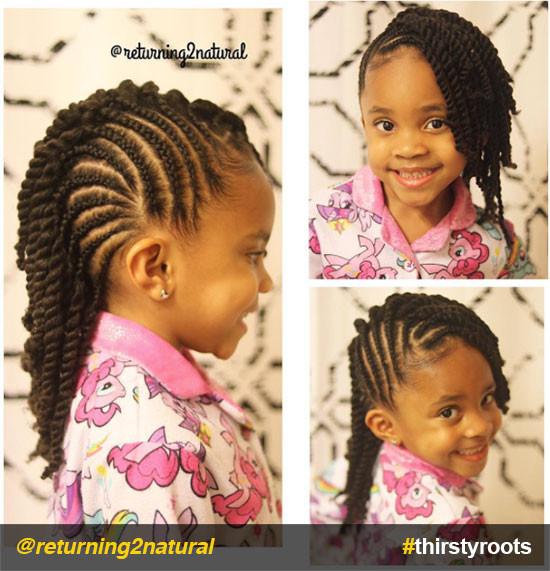 Little Girl Hairstyles Natural Hair  20 Cute Natural Hairstyles for Little Girls