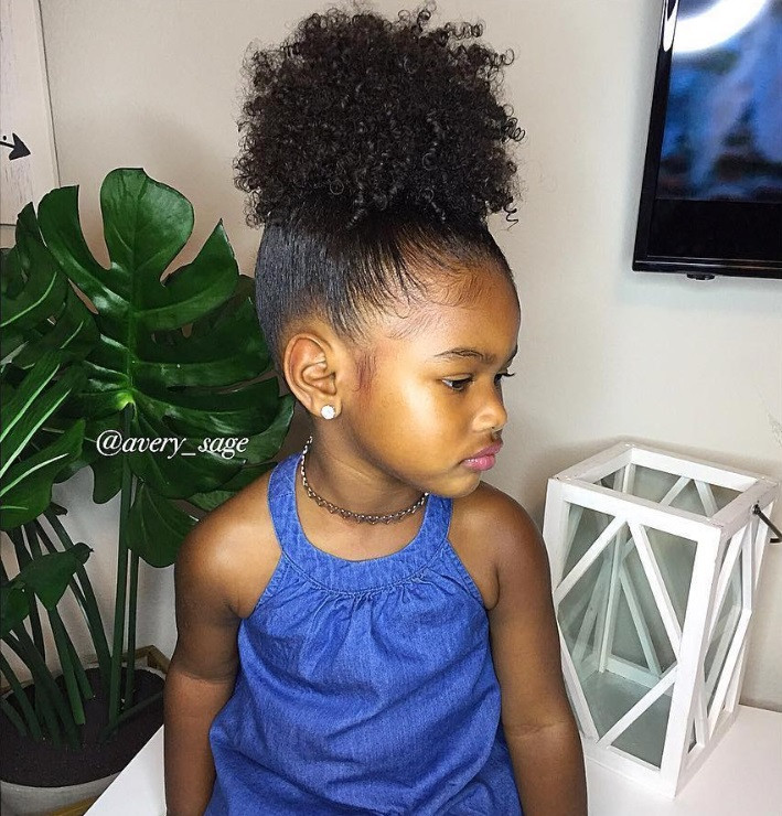 Little Girl Hairstyles Natural Hair  Back To School Hairstyles For Your Little Natural Girl