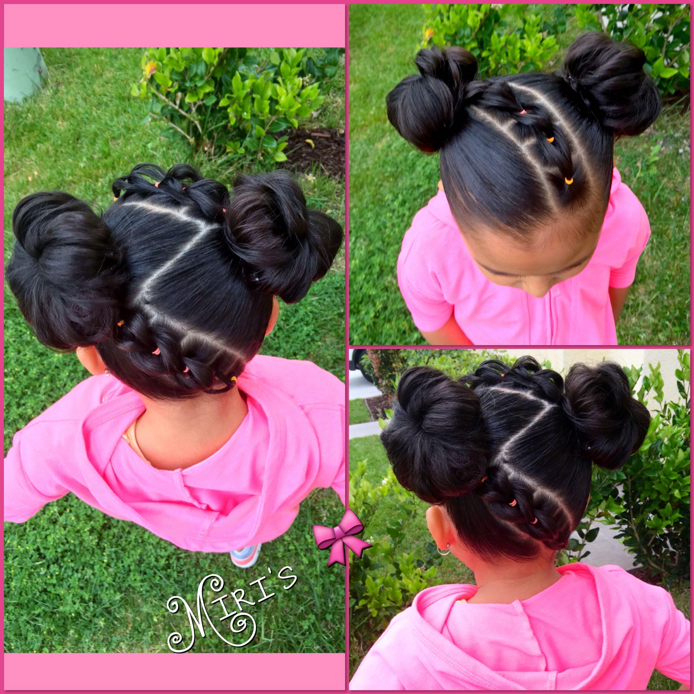 Little Girl Hairstyles Natural Hair  Hair style for little girls Twist Pinterest
