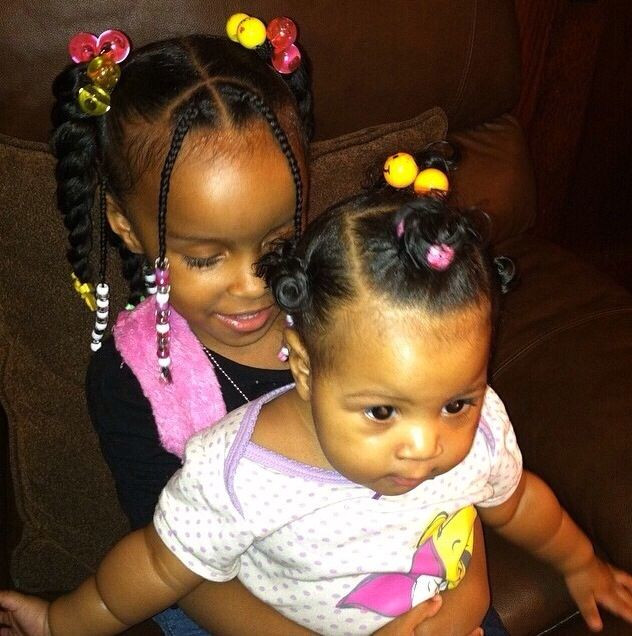 Little Girl Ponytail Hairstyles African American  credits Instagram Naturalhairkid
