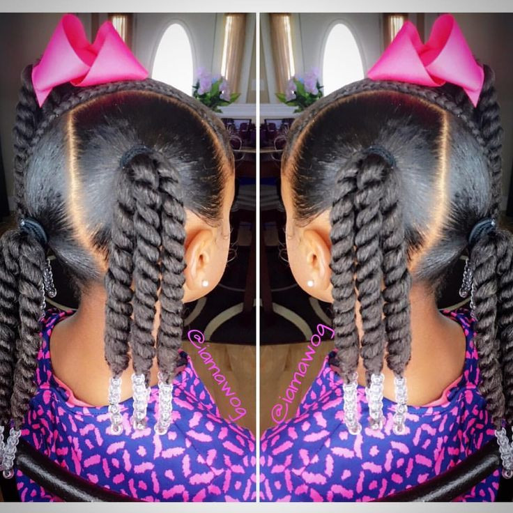 Little Girl Ponytail Hairstyles African American  355 best images about African Princess Little Black Girl