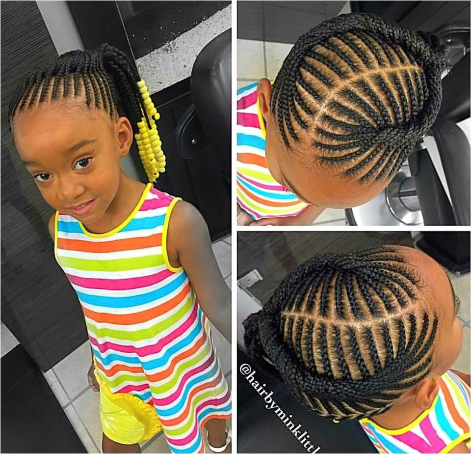 Little Girl Ponytail Hairstyles African American  African American Ponytail Hairstyles For Little Girls