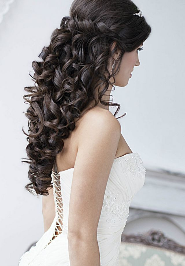 Long Hairstyles For Weddings  22 Most Stylish Wedding Hairstyles For Long Hair