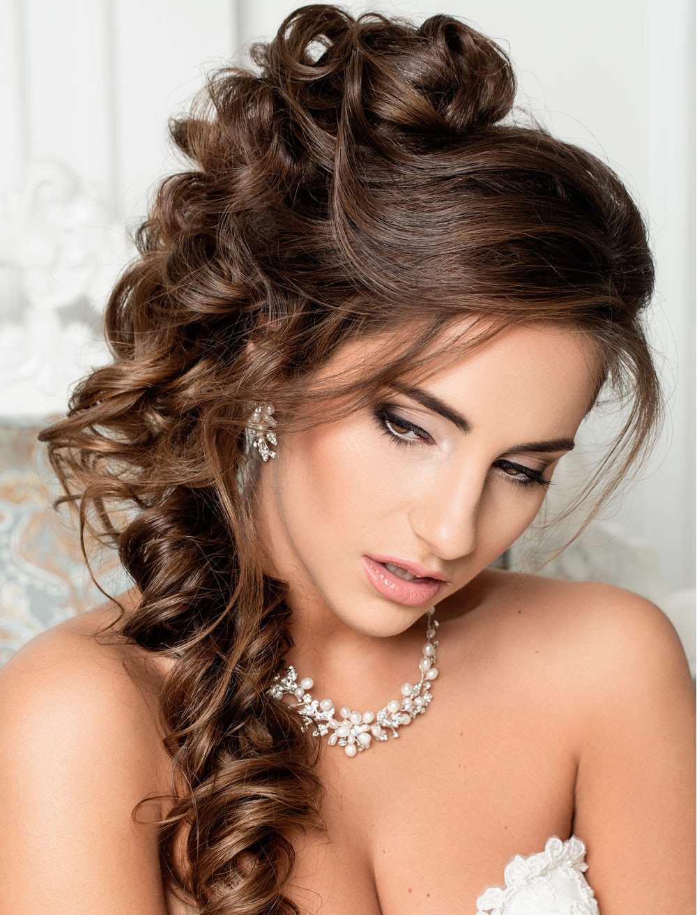 Long Hairstyles For Weddings  Very Stylish Wedding Hairstyles for Long Hair 2018 2019