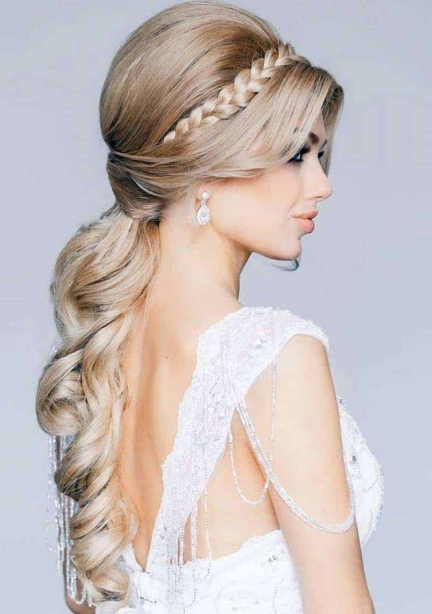 Long Hairstyles For Weddings  bridal hairstyles for long hair 2015 Womenstyle
