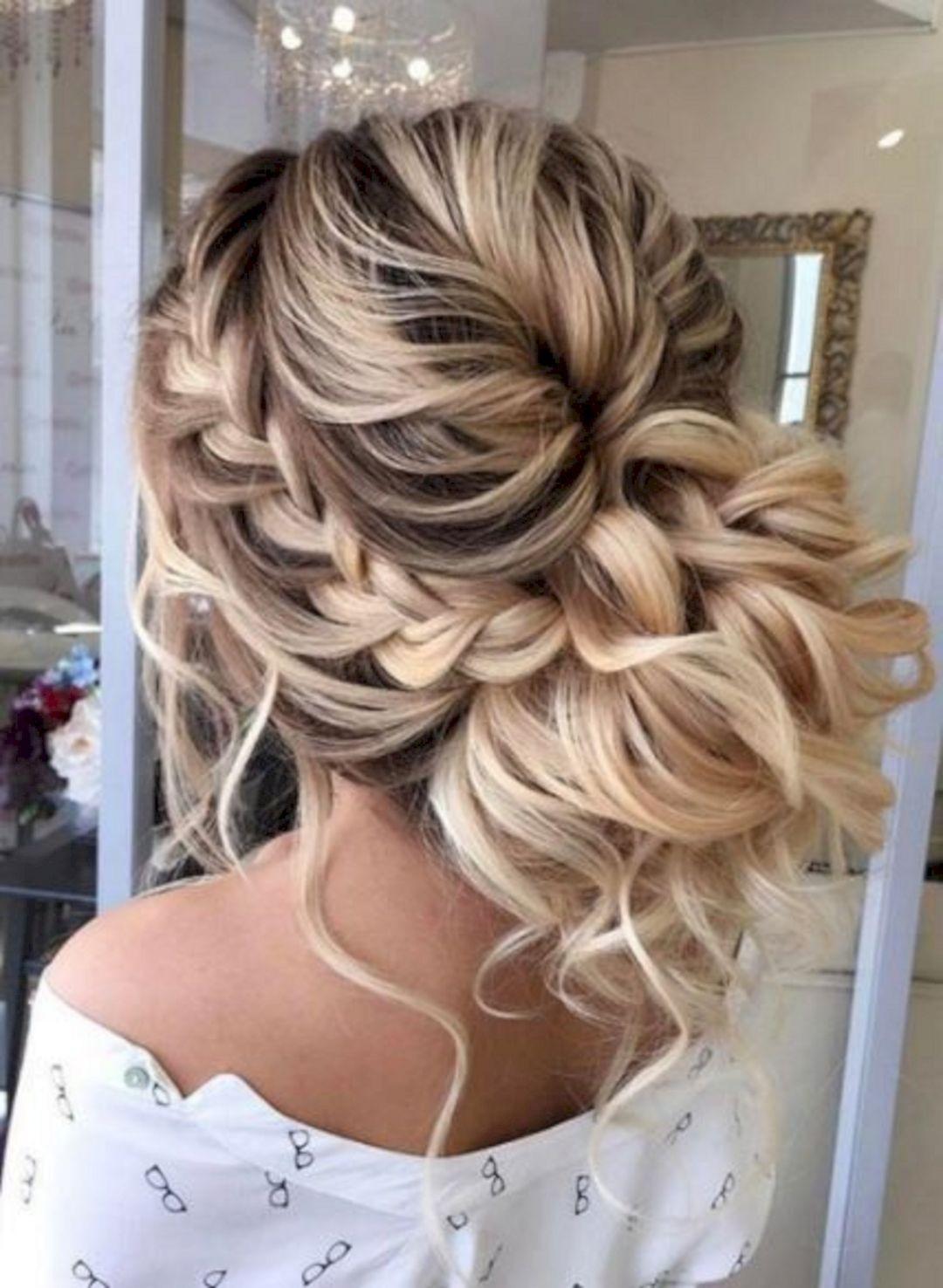 Long Hairstyles For Weddings  Wedding Bridesmaid Hairstyles for Long Hair – OOSILE