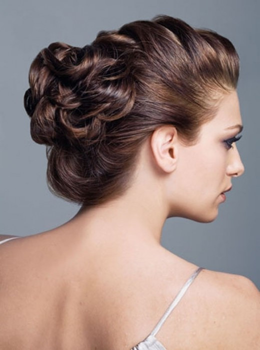 Long Hairstyles Updos  RainingBlossoms Trendy Wedding Hairstyles Updos