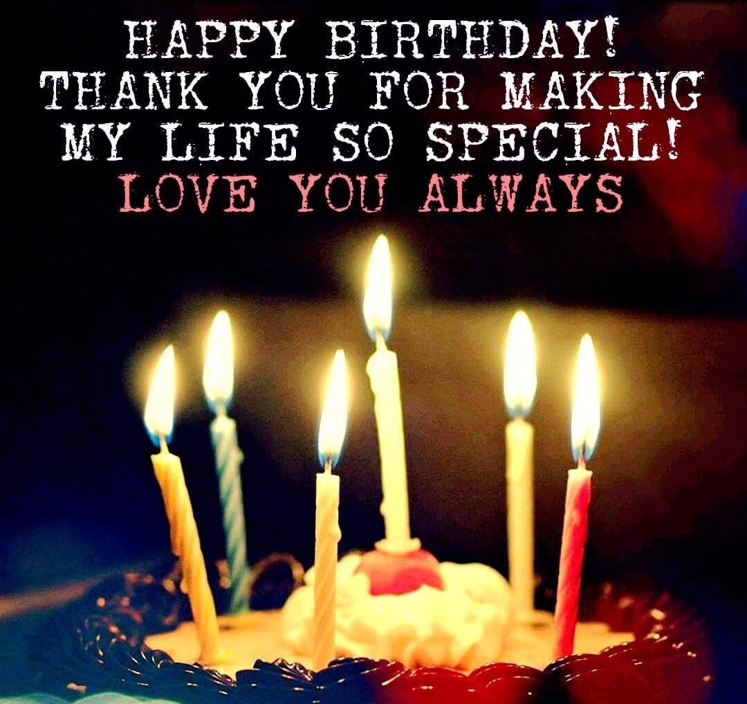 Loving Birthday Wishes  121 Super Romantic Birthday Wishes For Him