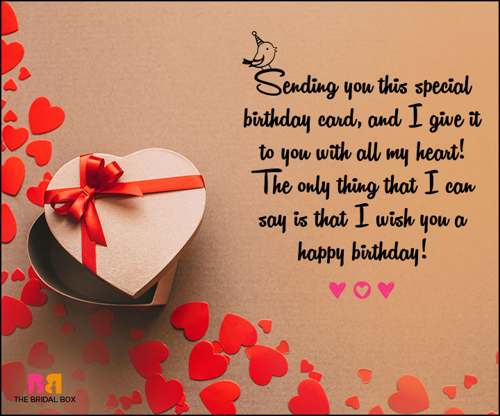 Loving Birthday Wishes  55 Love Birthday Messages To Wish That Special Someone