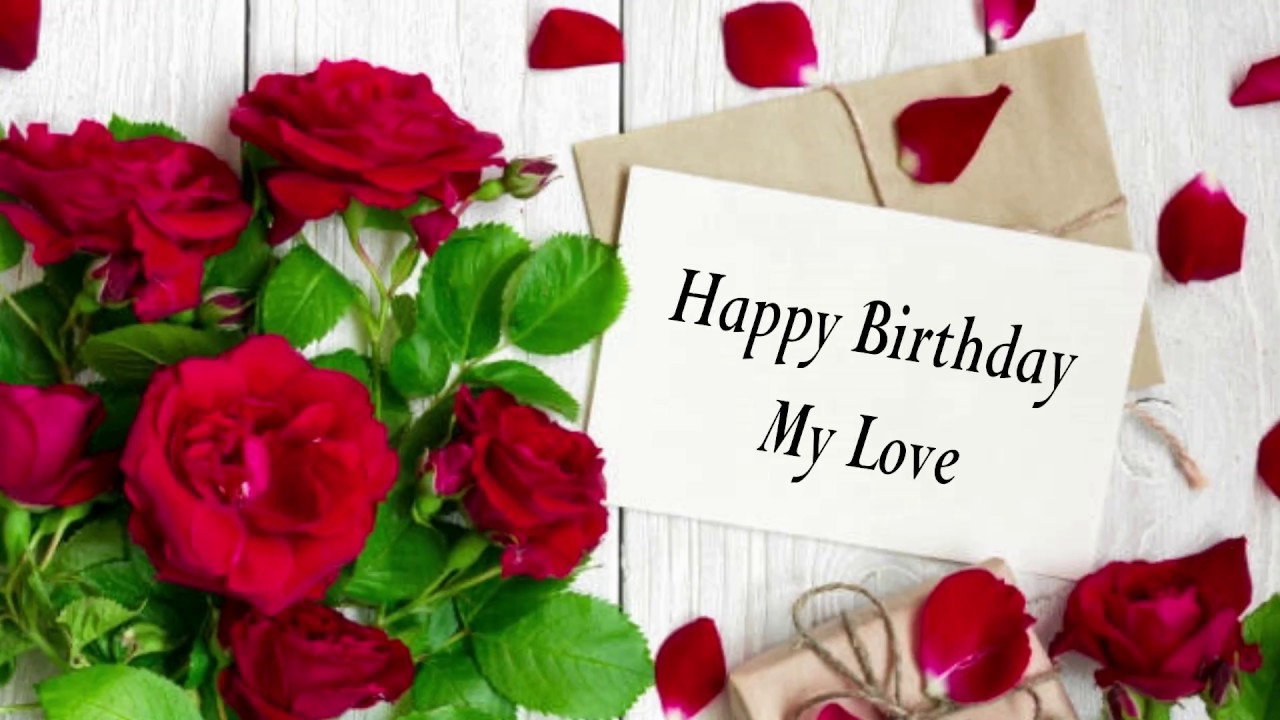 Loving Birthday Wishes  Birthday Wishes to husband Very Romantic for My Ever