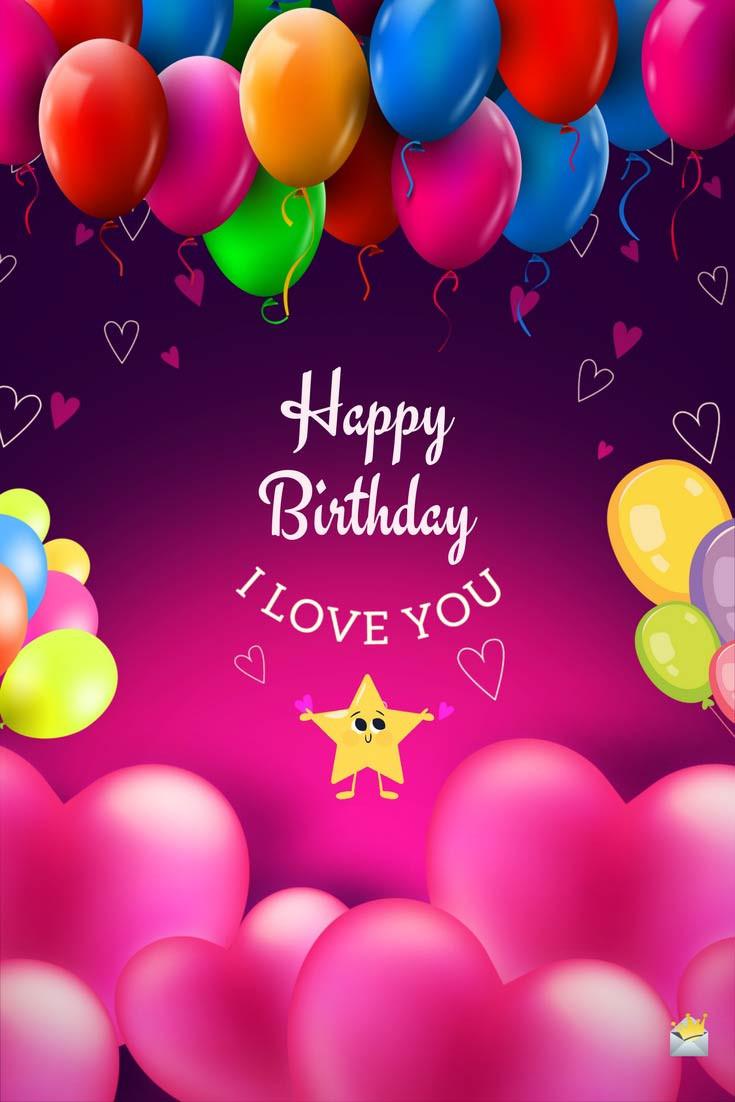 Loving Birthday Wishes  Happy Birthday my Love