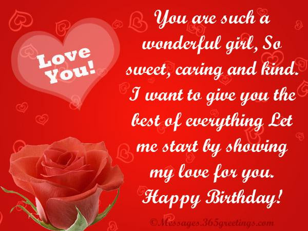 Loving Birthday Wishes  Love Birthday Messages 365greetings