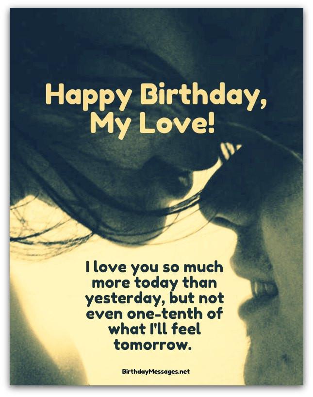 Loving Birthday Wishes  Romantic Birthday Wishes & Birthday Quotes Birthday Messages