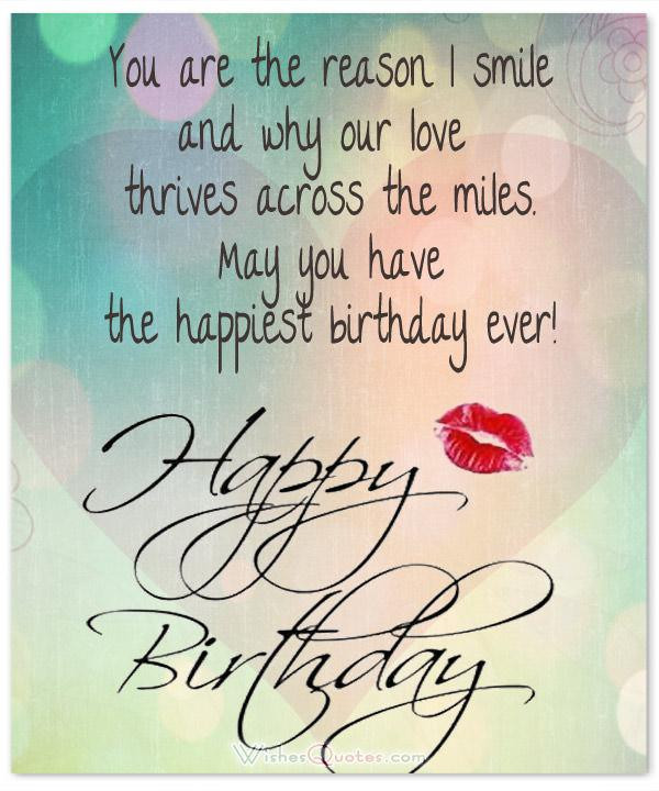 Loving Birthday Wishes  Romantic Birthday Wishes for your Husband By WishesQuotes