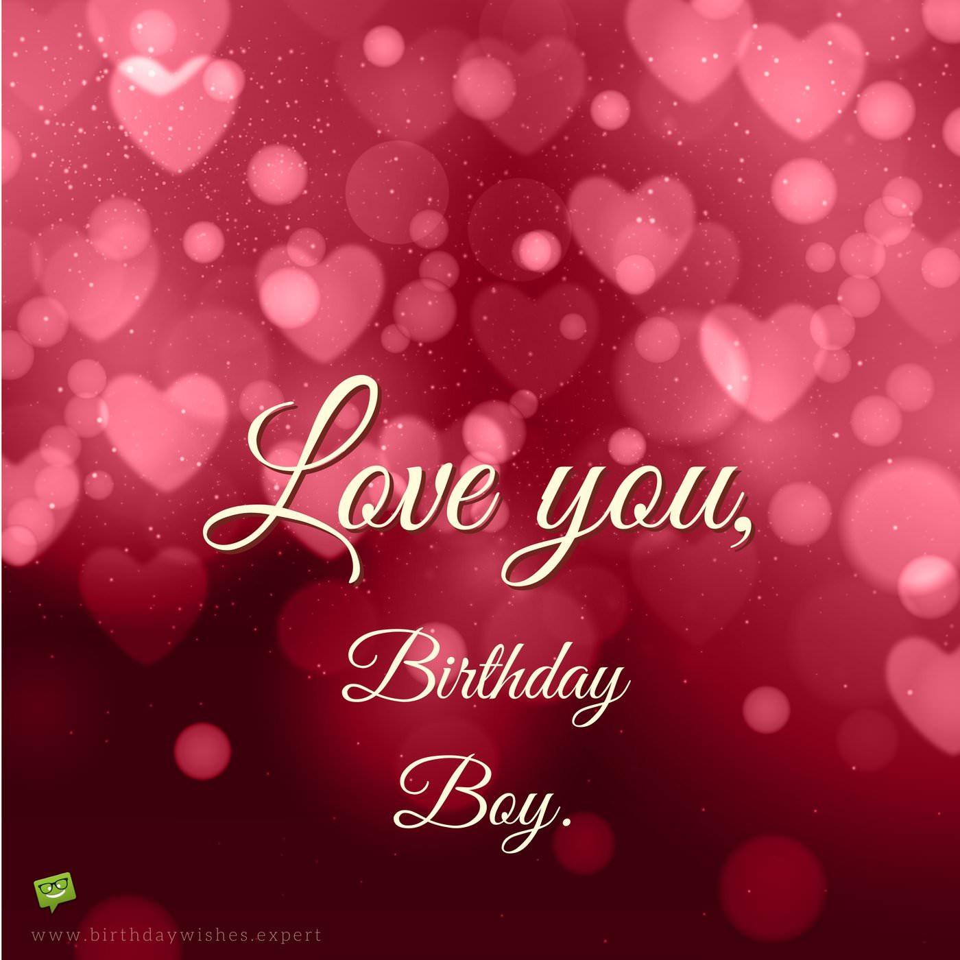 Loving Birthday Wishes  Romantic Birthday Wishes for Boyfriends