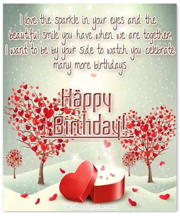 Loving Birthday Wishes  Romantic Birthday Cards & Loving Birthday Wishes for Fiancé