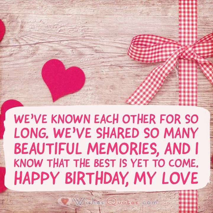 Loving Birthday Wishes  Romantic Birthday Wishes By LoveWishesQuotes