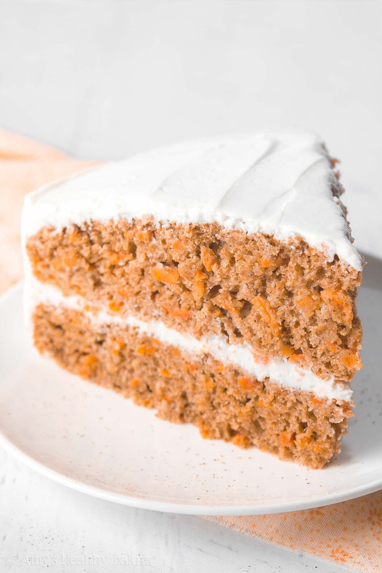 Low Fat Carrot Cake  The Ultimate Healthy Carrot Cake With a Step by Step