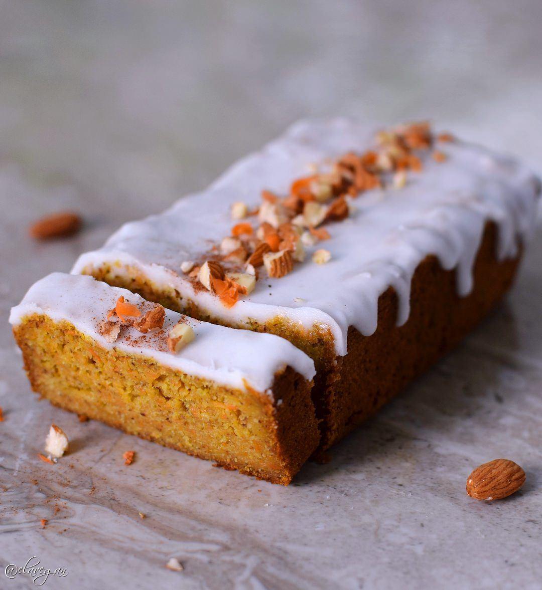 Low Fat Carrot Cake  Vegan gluten free carrot cake recipe
