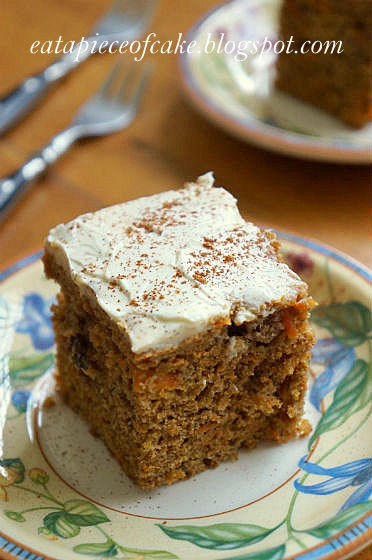 Low Fat Carrot Cake  Piece of Cake Wholemeal Low fat Moist Carrot Cake Delia