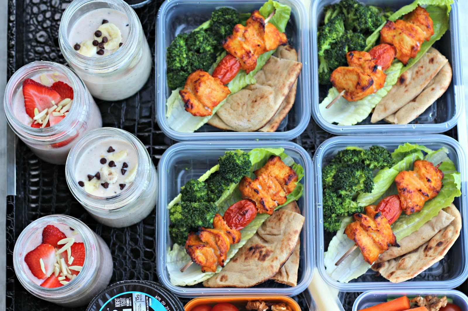 Low Fat High Protein Recipes  High Protein Diet Meal Prep Week 1