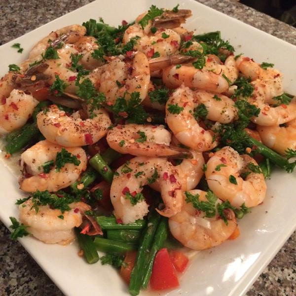 Low Fat High Protein Recipes  Lemon Garlic Shrimp Recipe TingFit