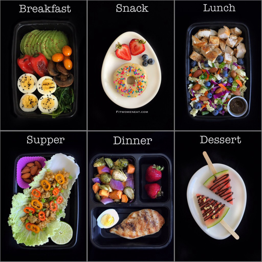 Low Fat High Protein Recipes  High Protein Low Carb Meal Prep Breakdown Fit Women Eat