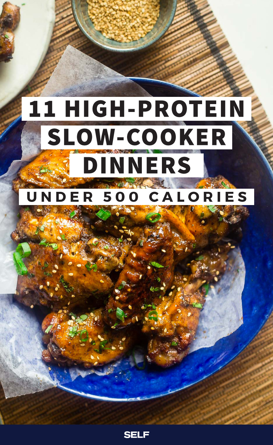 Low Fat High Protein Recipes  11 High Protein Slow Cooker Dinners Under 500 Calories