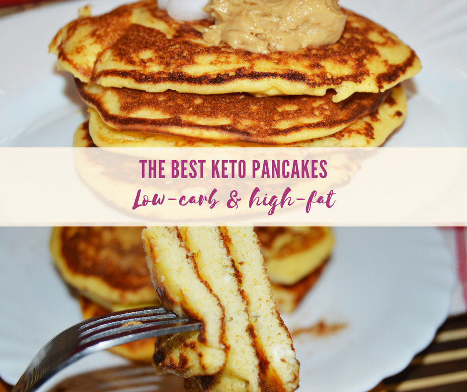Low Fat Keto Recipes  The best Keto Pancakes with Coconut Flour