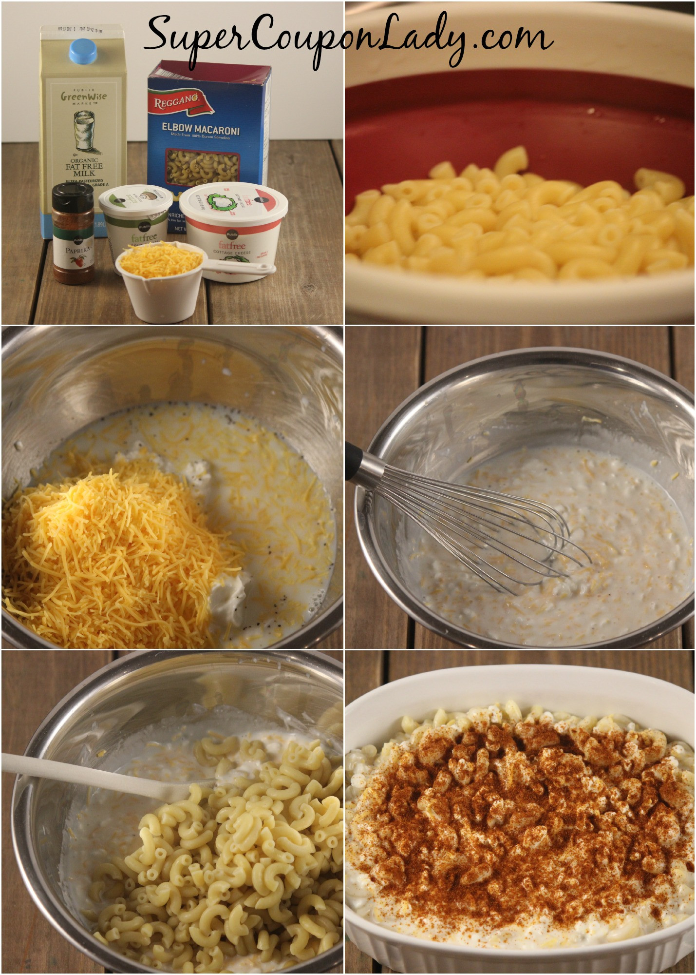 Low Fat Mac And Cheese Recipes  Low Fat Macaroni and Cheese Recipe Super Coupon Lady
