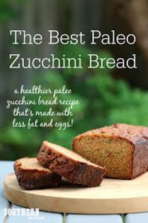 Low Fat Paleo Recipes  The Best Healthy Paleo Zucchini Bread Recipe low fat