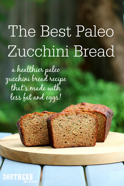 Low Fat Paleo Recipes  Southern In Law Recipe The Best Paleo Zucchini Bread