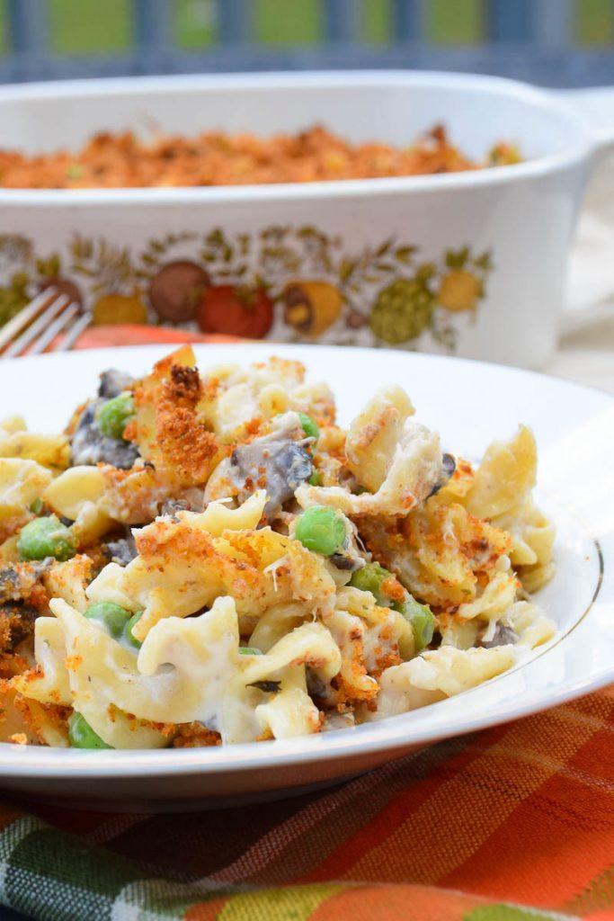 Low Fat Tuna Noodle Casserole  Tuna Noodle Casserole – Low Fat Recipe
