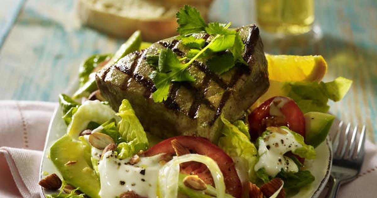 Low Fat Tuna Recipes  Low Fat Tuna Steak Recipes